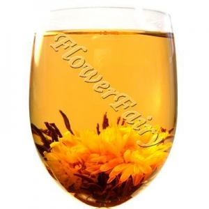 China Golden Flower Blossoming Tea on sale