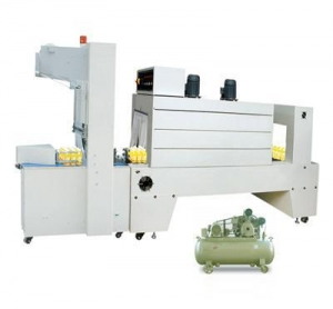 China SEMI-AUTOMATIC SLEEVE WRAPPER PE THERMAL SHRINK PACKAGING MACHINE on sale