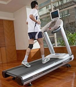 China Professional Commercial Grade Treadmill (optional: TV Monitor & Bracket) on sale