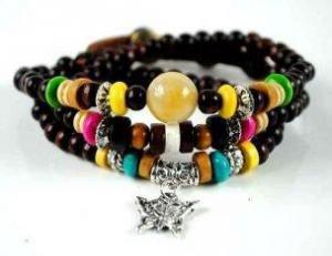 China Custom Leather Bracelets M0004 on sale