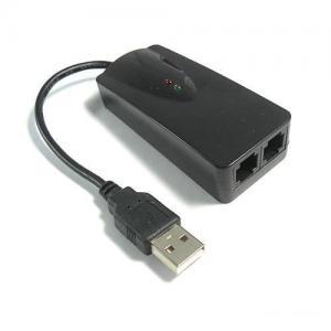 China USB Fax Modem FM-2P 56K USB2.0 2Ports Fax Modem on sale