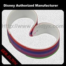 China Beautiful Rubber Print Bangle on sale