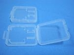 China SD 2-CARD CASE(super clear) Hold memory sd card ,micro sd card on sale