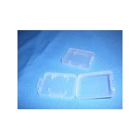 SD 1-CARD CASE(super clear) Hold memory sd card