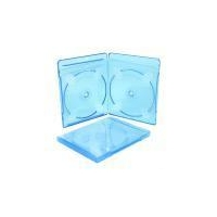 CD&DVD PP case SS-blueray-2 10mm double blue ray case(color)