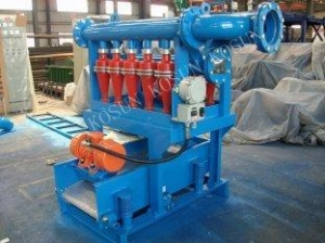 China Drilling Mud Desilter on sale