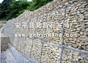 China Galvanized Wire Gabions on sale