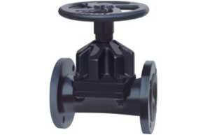 China Straight-through type diaphragm valve on sale