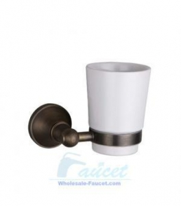 China Bathroom Accessory Wall Mounted Toothbrush Tumbler Holder FG-613 on sale