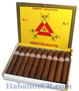 China Montecristo Montecristo No 5 (10) - Cuban Cigars on sale