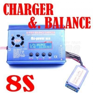 China Balance Charger 8S LiPo Battery Balance Charger (HK-C1008A) on sale