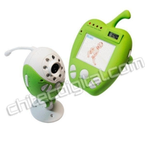 China Green Apple 2.5 Inch Wireless Baby Monitor with Night Version CB352 on sale