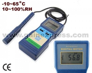 China Professional Relative Humidity Temperature Meter Tester on sale