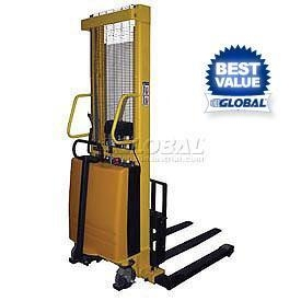 China Battery Operated Power Lift Stackers on sale
