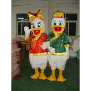 China Donald Duck and Daisy Duck Costume on sale