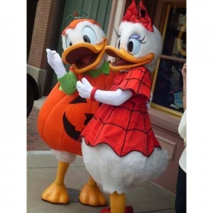China Donald Duck & Daisy Duck Halloween Costume on sale