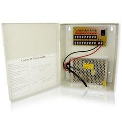 China CCTV Power Supplies CL-9POWER - 8 Channel CCTV Camera Power Supply Distribution Box on sale