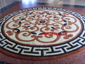 China Handmade wool rugs carpet works on sale