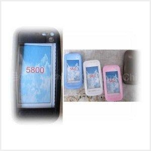 China FOR NOKIA mobile phone silicon case for Nokia 5800 cco 322 on sale