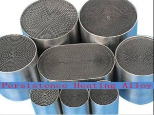 China metallic catalyst substrate Metallic Catalytic Converter Substrate on sale