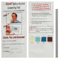 Saliva Alcohol Rapid Test