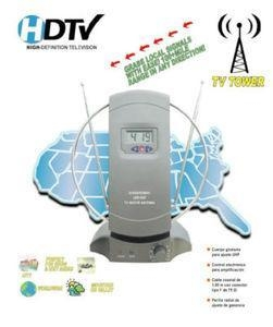 China New Model Digital VHF/UHF/FM HDTV Indoor Clock Antenna on sale