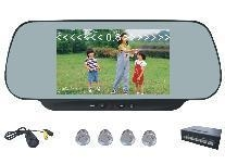 China 6-Inch Rear View Car Monitor with parking sensors/Len on sale