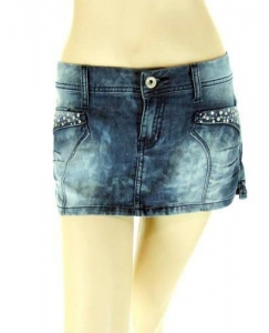 China Mini Skirt - Denim on sale