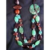 Semi-Precious Stones Necklace (France)