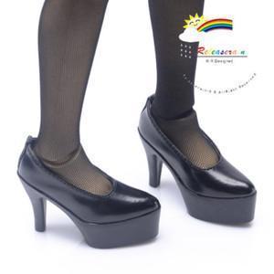 China SD Girl Stiletto Platform High-Heel Pumps Shoes Black on sale