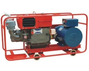 China GF1 series single-phase diesel generating sets on sale
