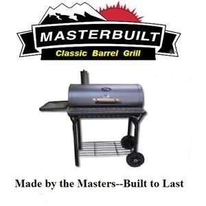 China MASTERBUILT FULL SIZE BARREL GRILL on sale