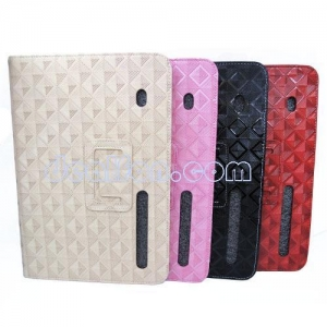 China Mosaics Pattern Leather Case Cover Stand For Motorola Xoom Tablet on sale