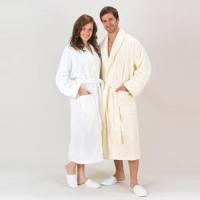 China Combed Pure Turkish Cotton Terry Robe on sale . b60b6b527