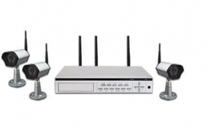 China GKW-5510 2.4GHz WIRELESS H264 MULTIPLEX 3CH REAL-TIME NETWORK DVR(1xHDD) on sale