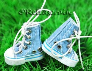 China Blythe Shoes MICRO HIGH TOP Sneakers Boots Baby Denim on sale