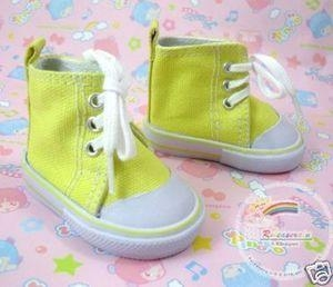China American Girl Doll Shoes Canvas Cons Sneakers Yellow on sale