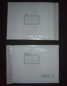 China White Poly Bubble Mailer on sale