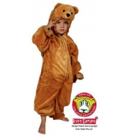 Bear-Full Body-Kids Safari Costume