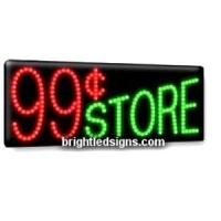 China 99 Cent Store Business LED Sign on sale