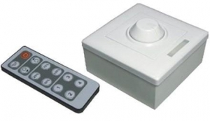 China LED Controller 12-Key IR Dimmer on sale