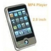 China 2.8 Inch Touch Screen MP4 Player with Camera for sale