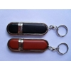 China OEM Popular Leater USB Flash Drive for sale