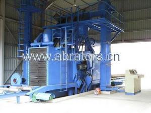 China H-Steel Abrator, H-beam shot blasting machine - LCH1018 on sale