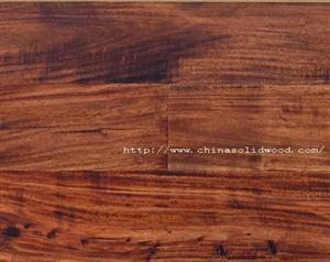 China Hand Scraped Acacia Walnut on sale