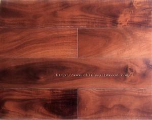 China Acacia Ebony Hardwood Flooring on sale