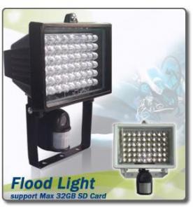 China Flood Light Camera Pir Camera / Flood Light DVR on sale