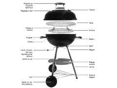 China Kettle BBQ,Charcoal Grill on sale