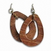 China wood Earrings for sale