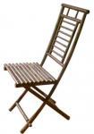 Slat Seat Folding Chair